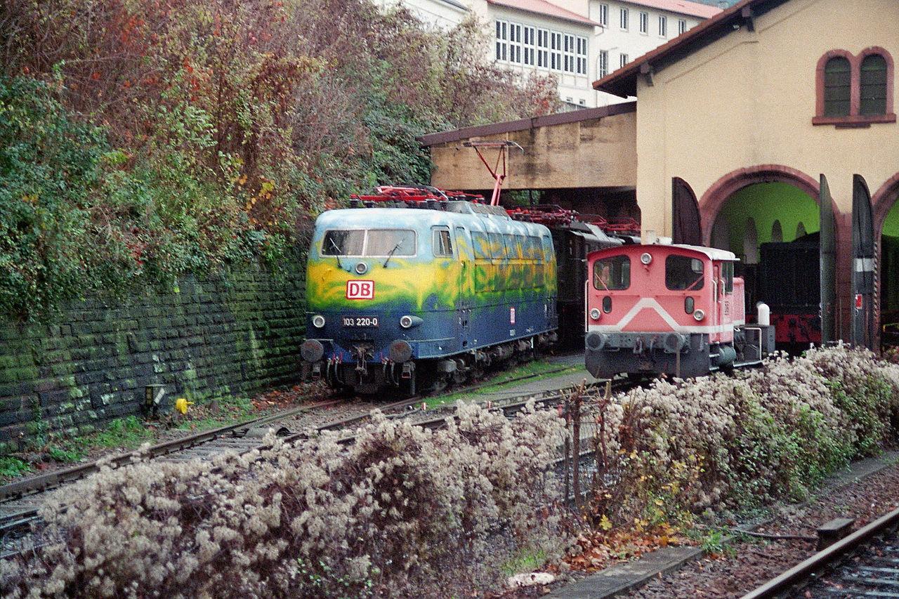 Bild Eisenbahnmuseum Neustadt an der Weinstraße