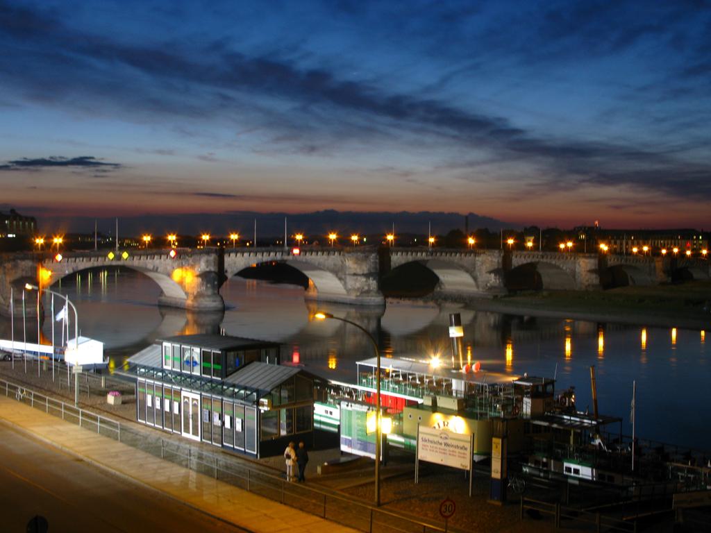 Bild Augustusbrücke Dresden