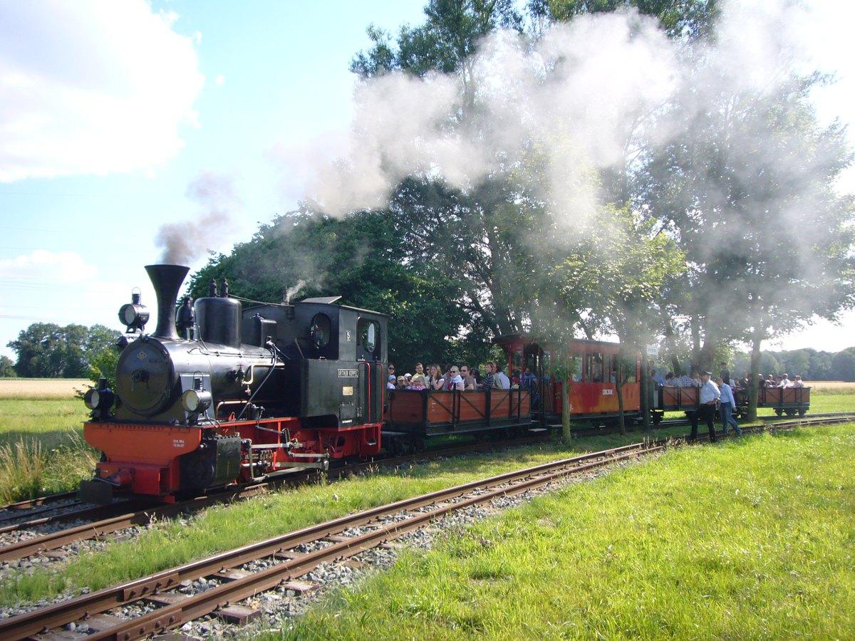 Bild Dampf Kleinbahn Mühlenstroth Gütersloh