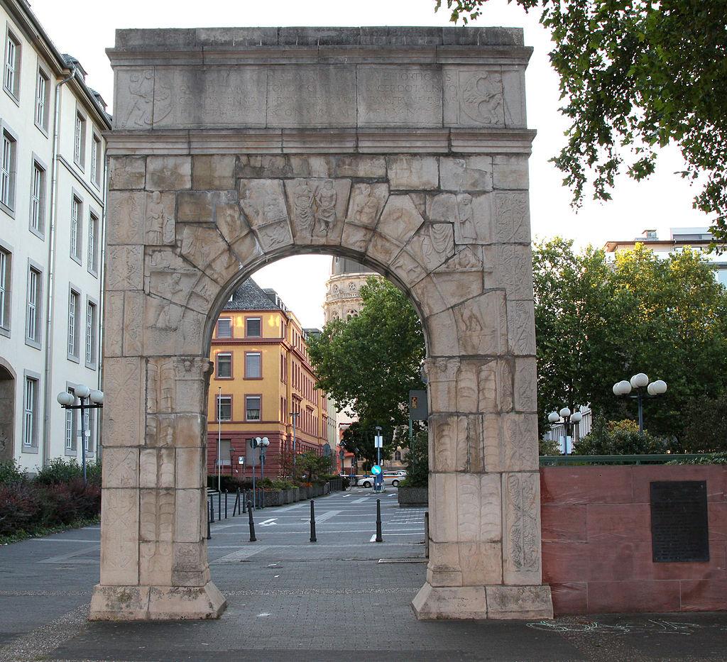Bild Dativius Victor Bogen Mainz