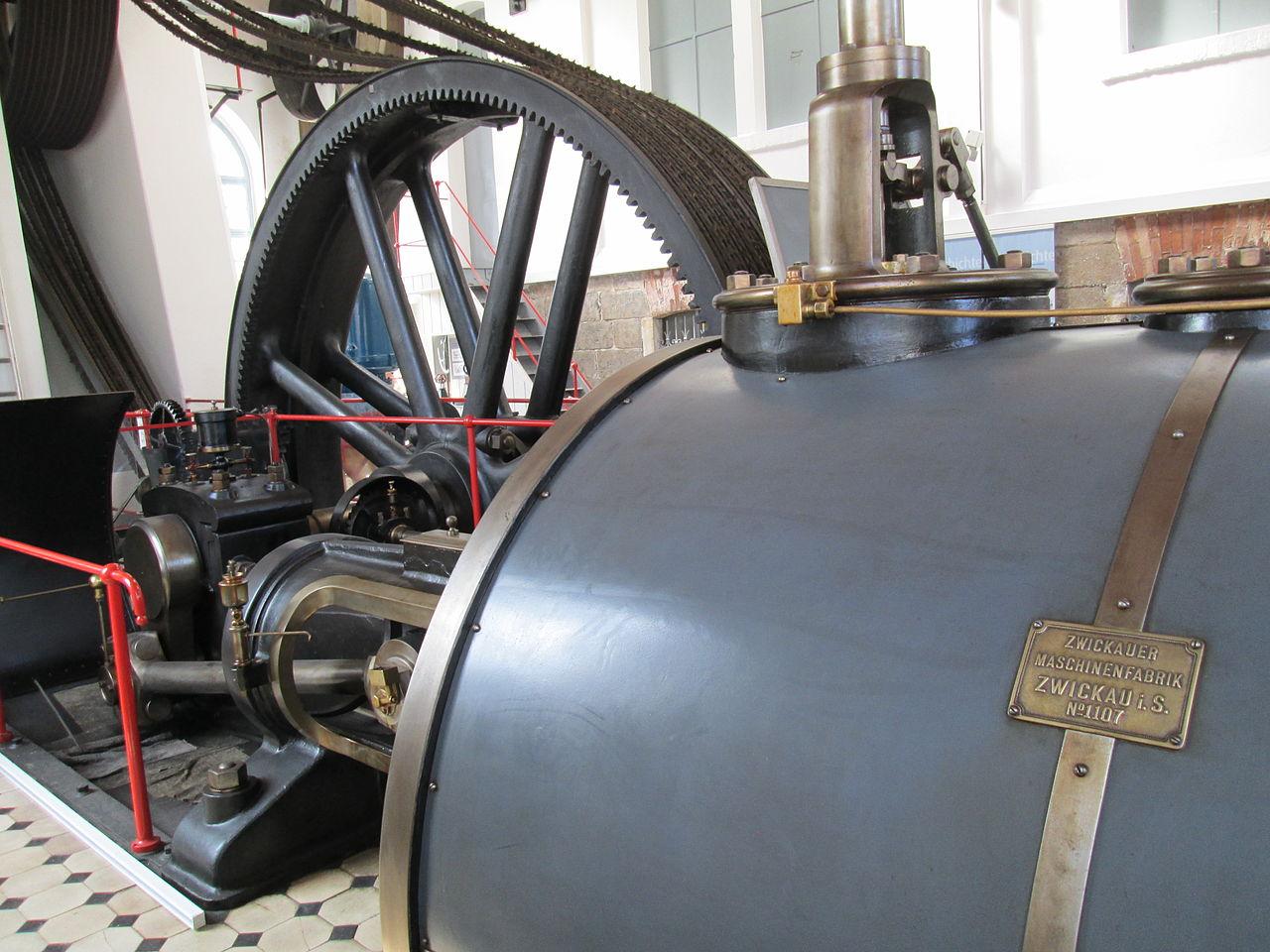 Bild Stadt und Dampfmaschinenmuseum Werdau