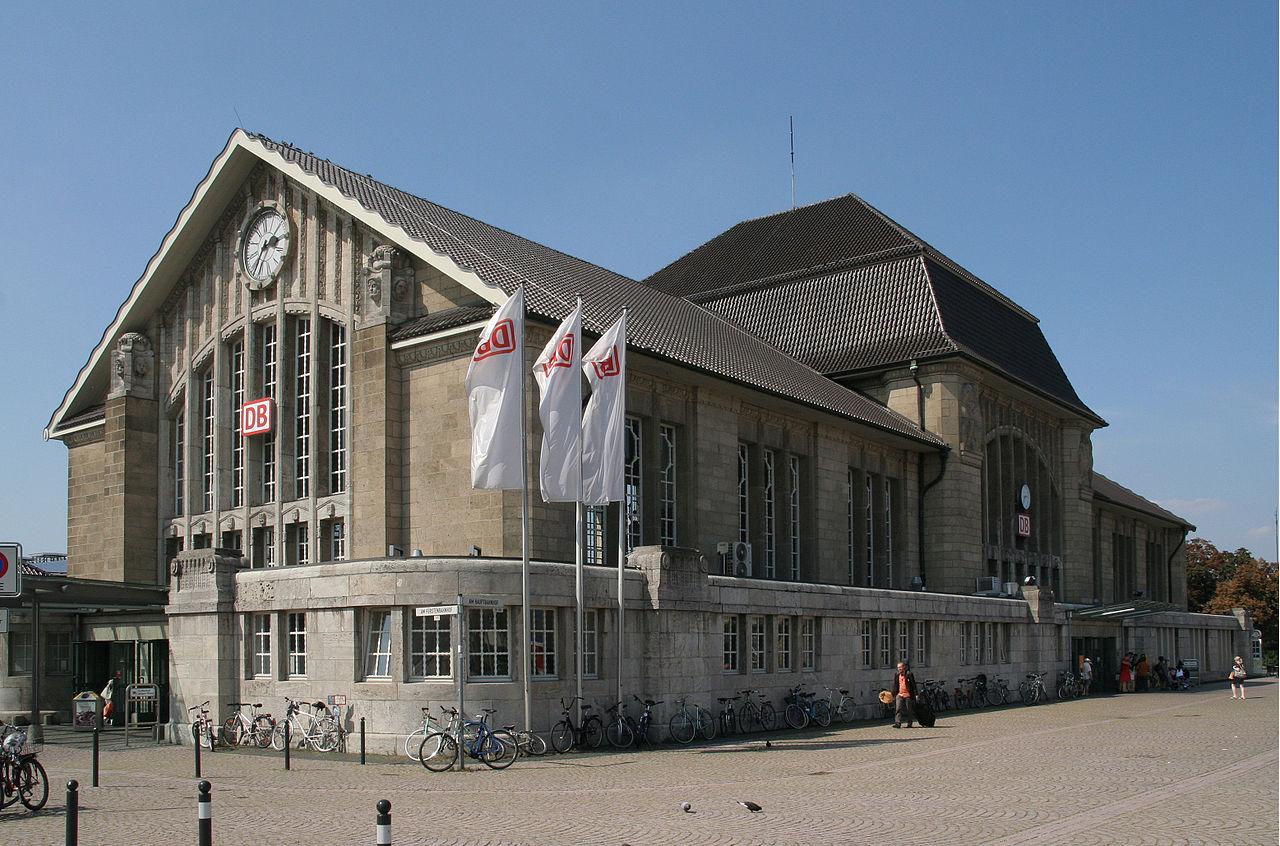 Bild Hauptbahnhof Darmstadt