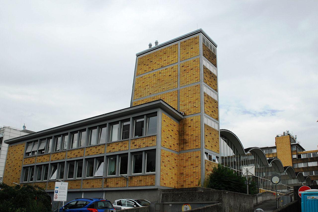Bild Ernst Neufert Halle Darmstadt