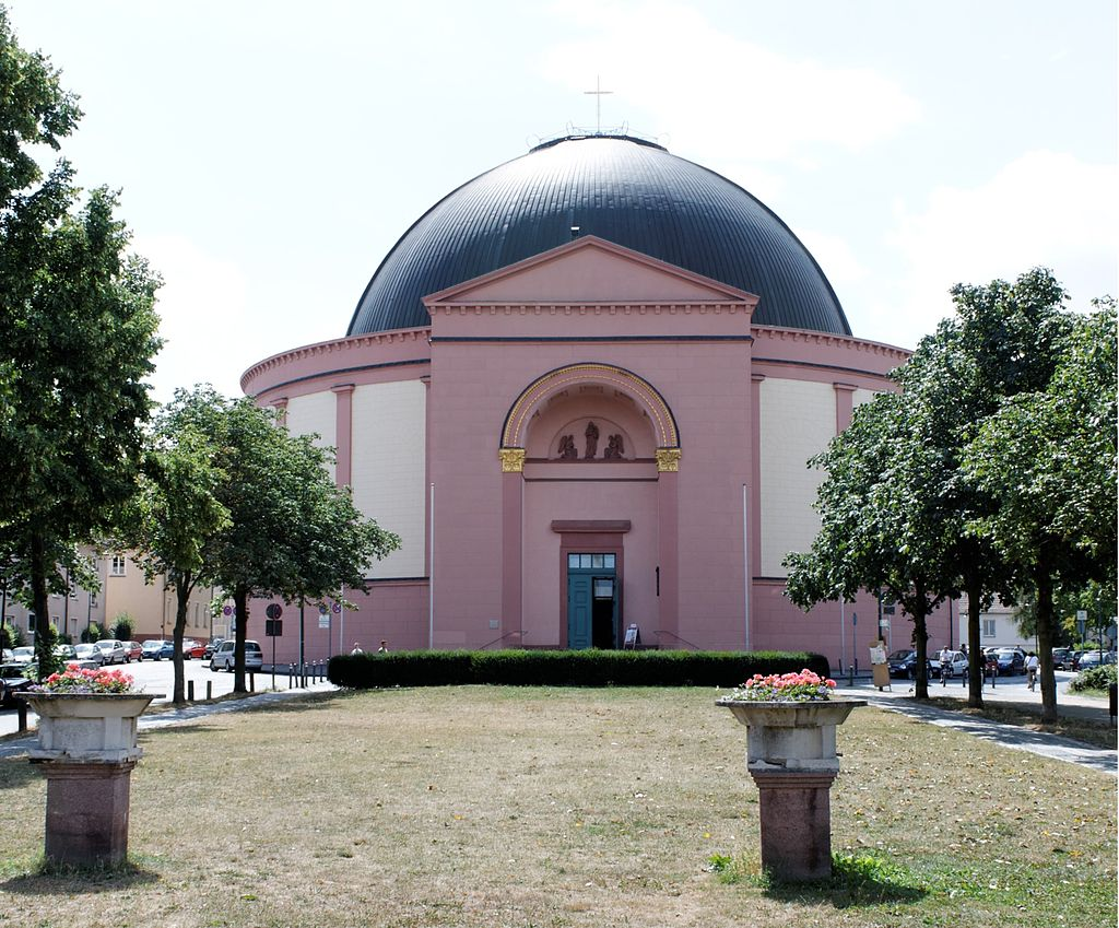 Bild St. Ludwigs Kirche Darmstadt