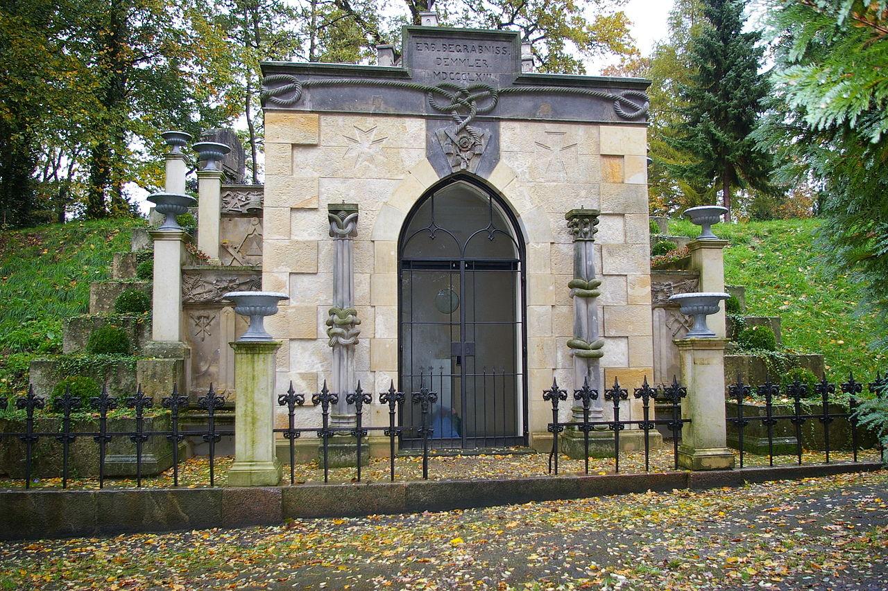 Bild Alter Friedhof Schwerin
