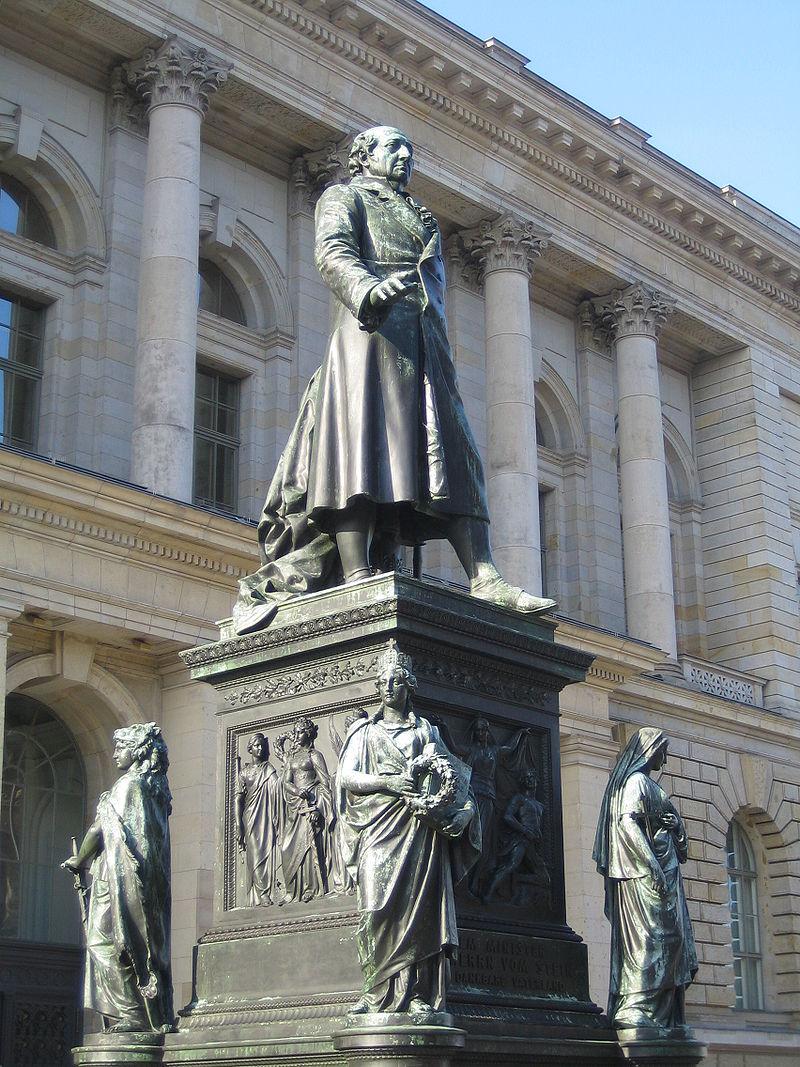 Bild Freiherr vom Stein Denkmal Berlin Kreuzberg