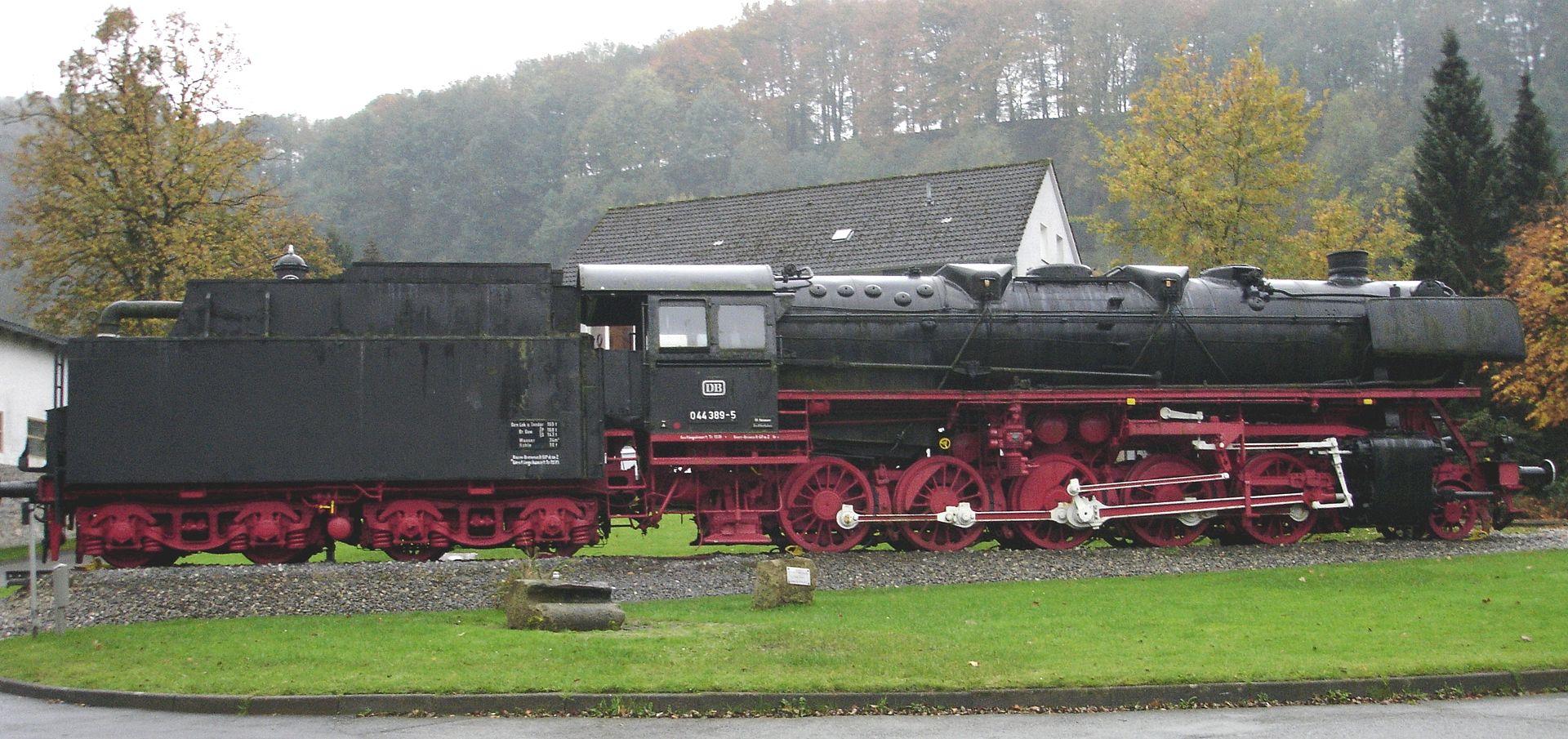 Bild Museumsdampflokomotive Altenbeken