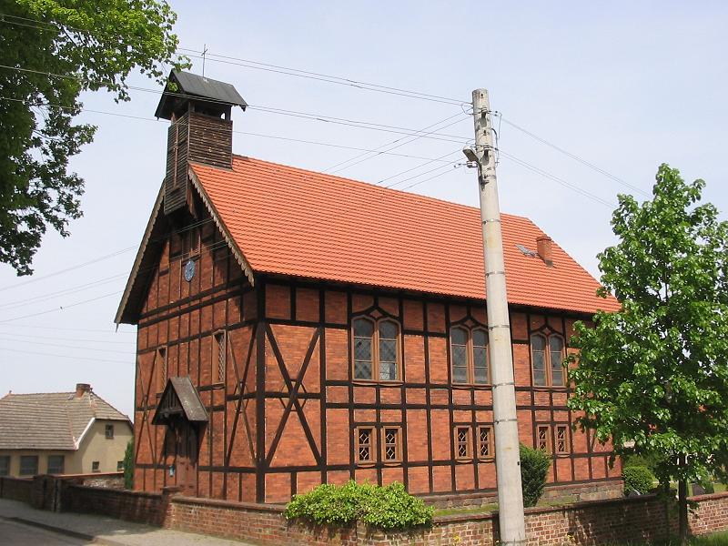Bild Fachwerkkirche Dippmannsdorf