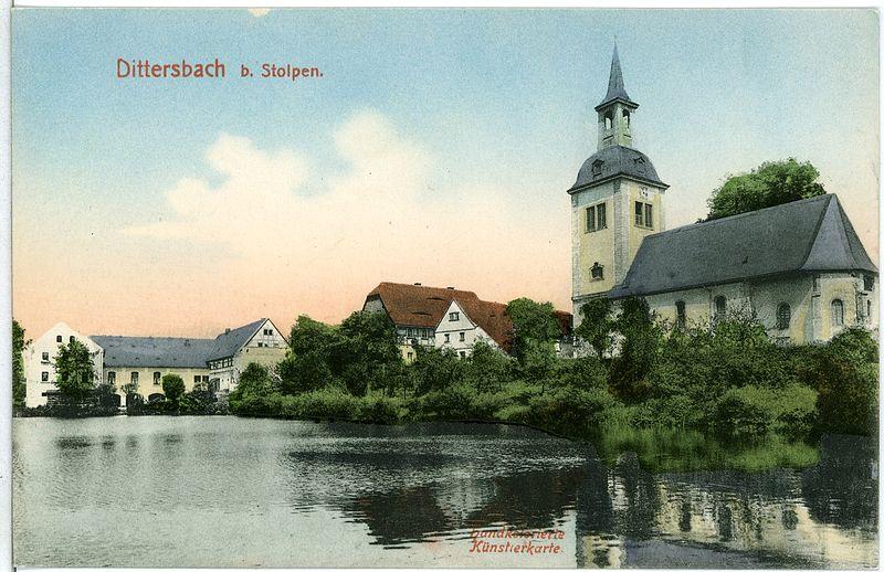 Bild Kirche Dittersbach