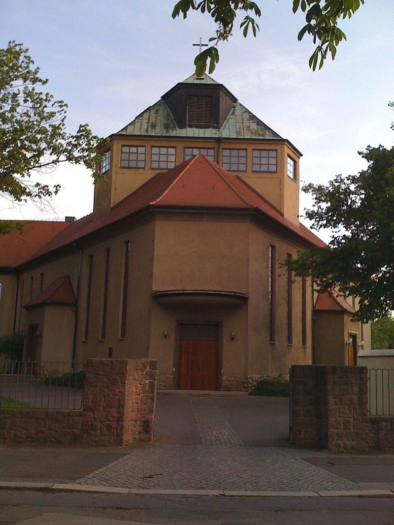 Bild Dreieinigkeitskirche Halle