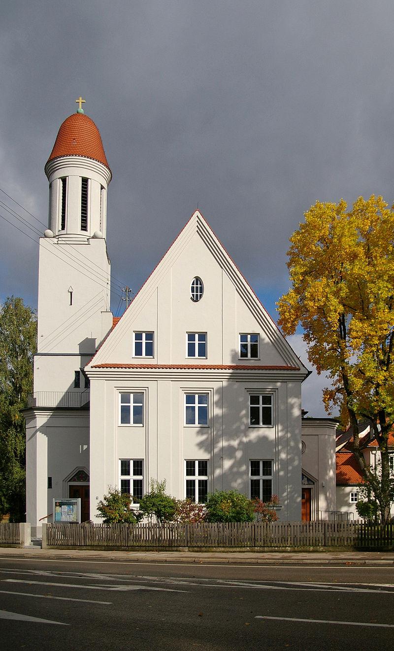 Bild Dreifaltigkeitskirche Augsburg