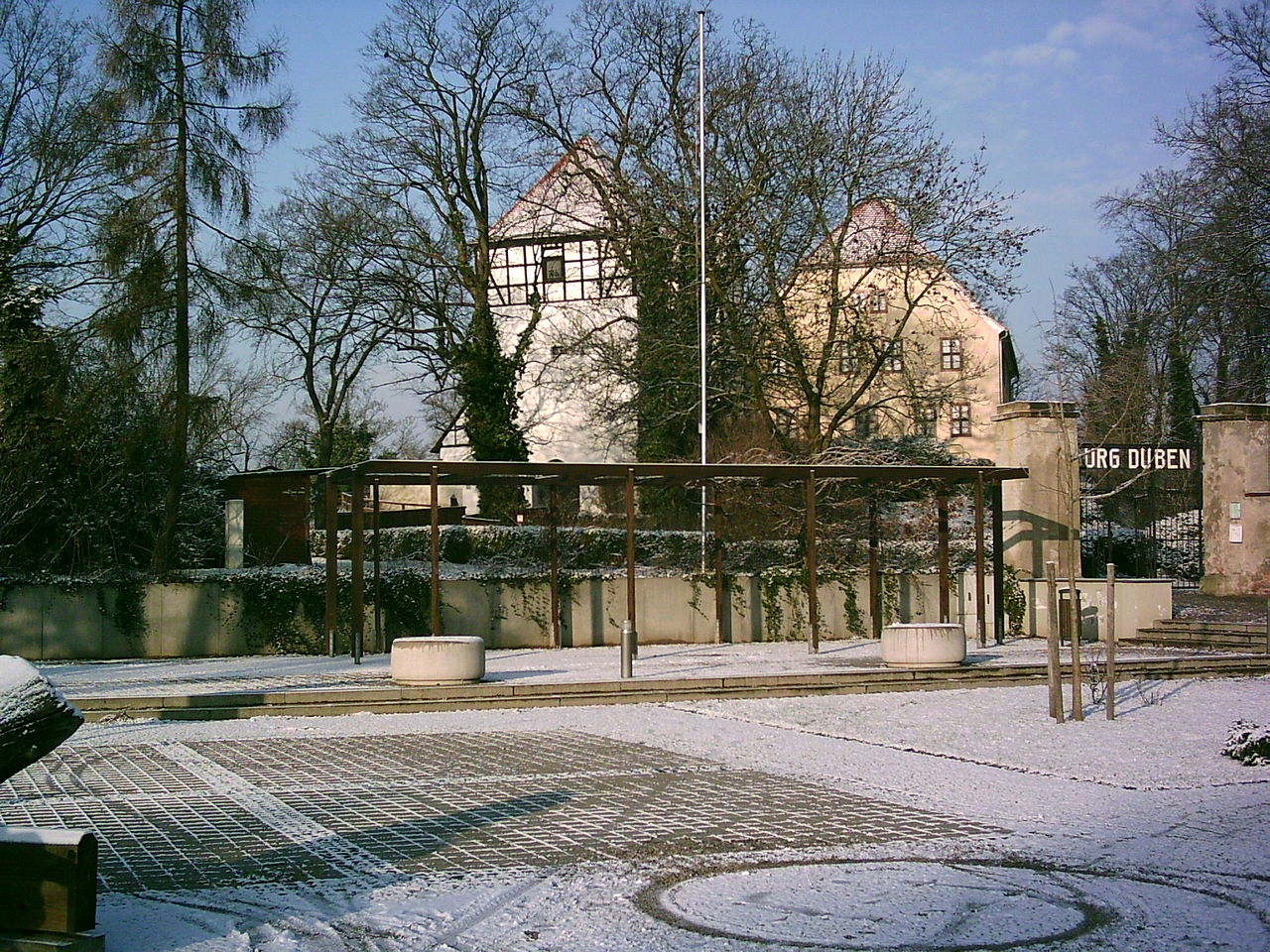 Bild Burg Düben