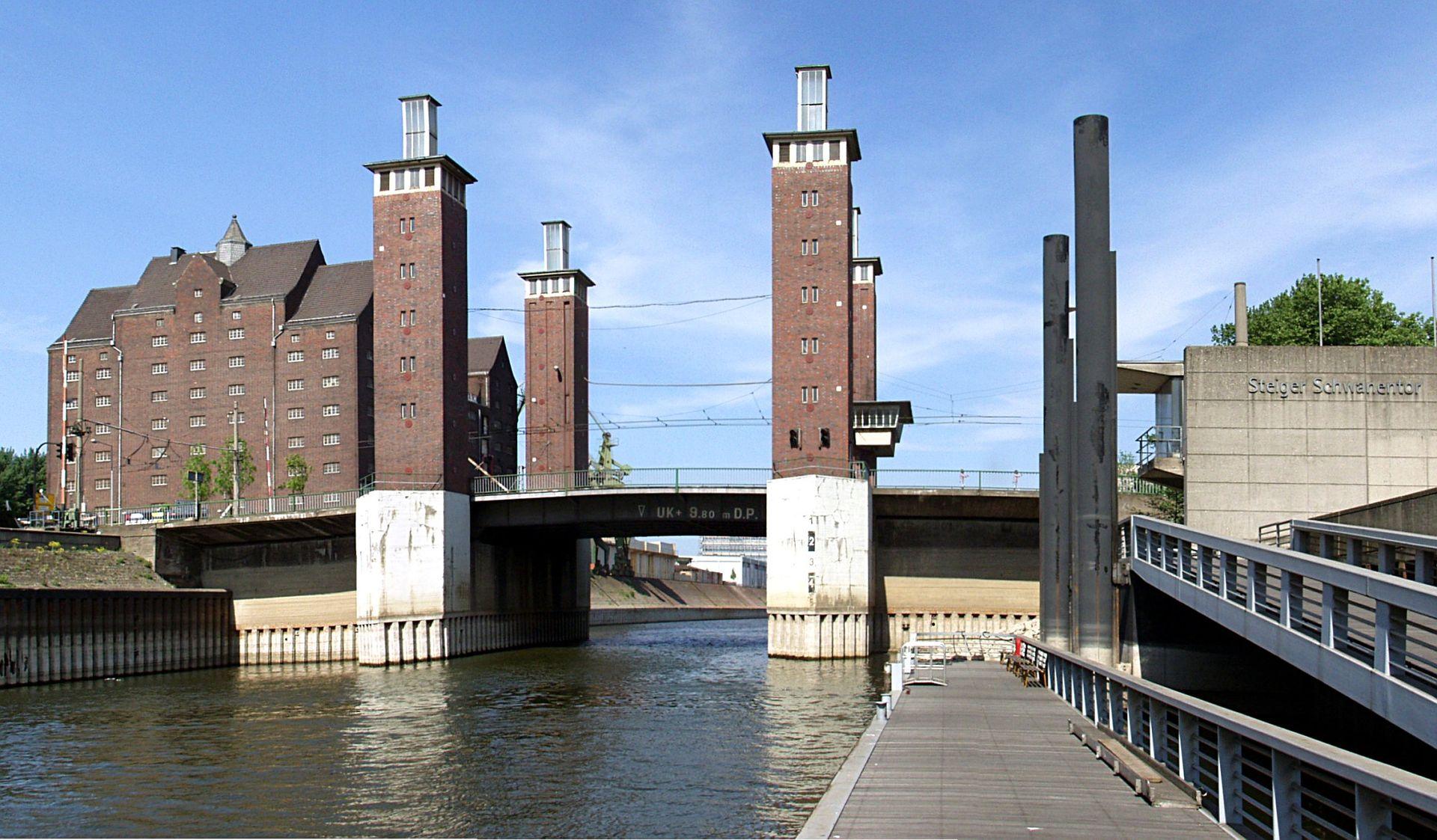 Bild Schwanentorbrücke Duisburg