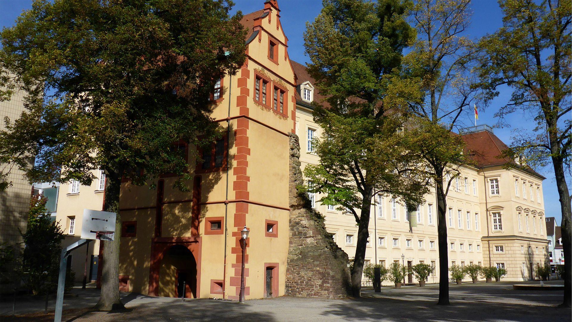 Bild Karlsburg Durlach