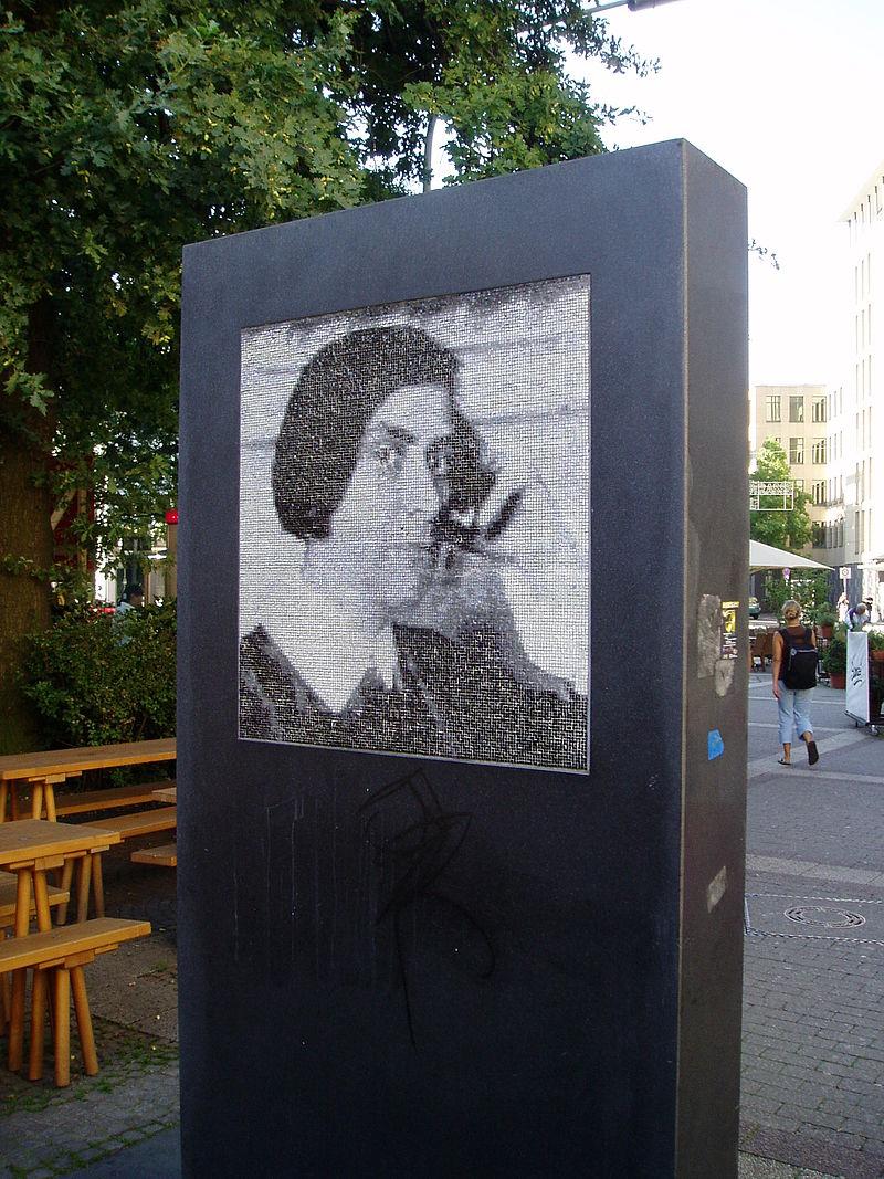 Bild Else Lasker Schüler Denkmal Wuppertal