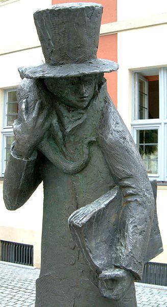 Bild E.T.A Hoffmann Plastik Bamberg
