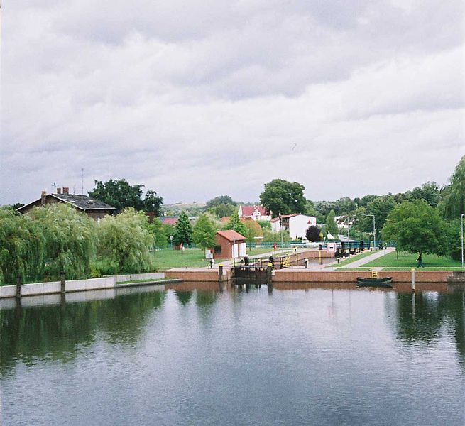 Bild Stadtschleuse Eberswalde