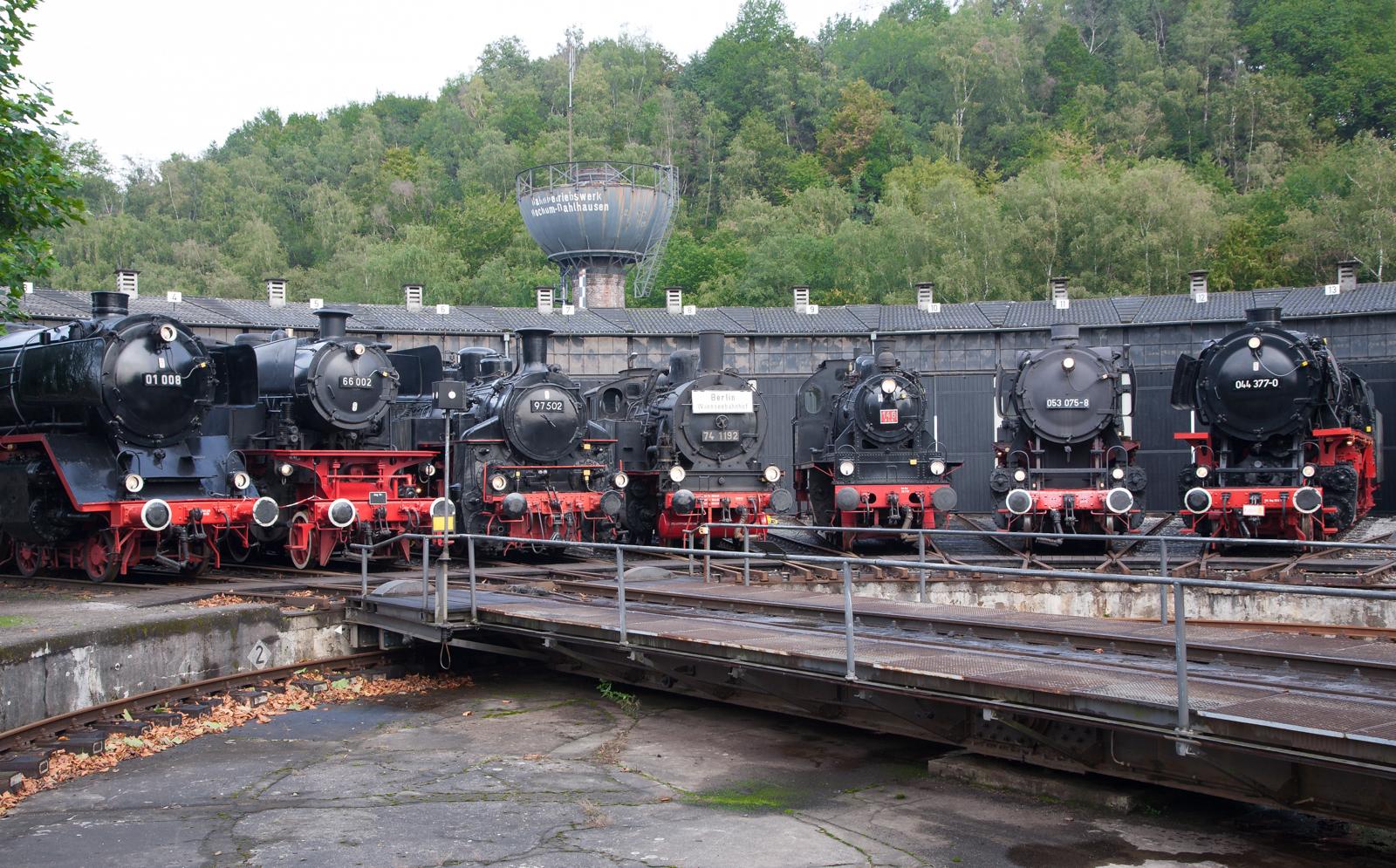 Bild Eisenbahnmuseum Bochum Dahlhausen