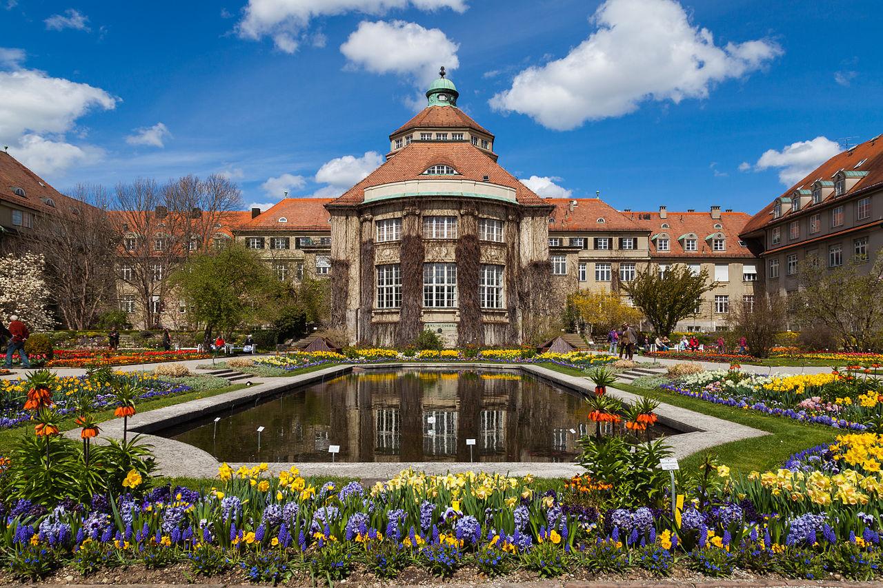 Bild Botanischer Garten München Nymphenburg