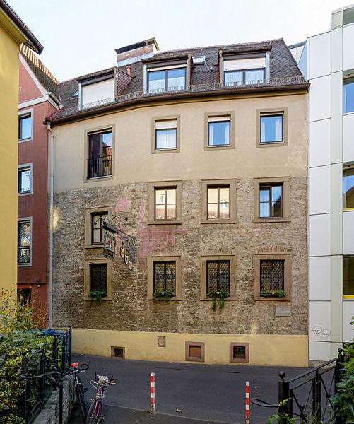 Bild Riemenschneider Wohnhaus Würzburg