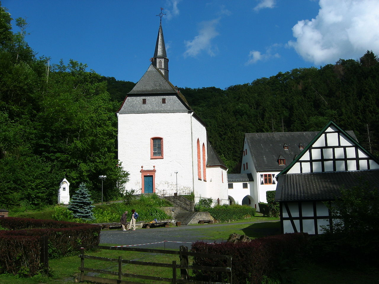 Bild Kloster Ehrenstein Asbach