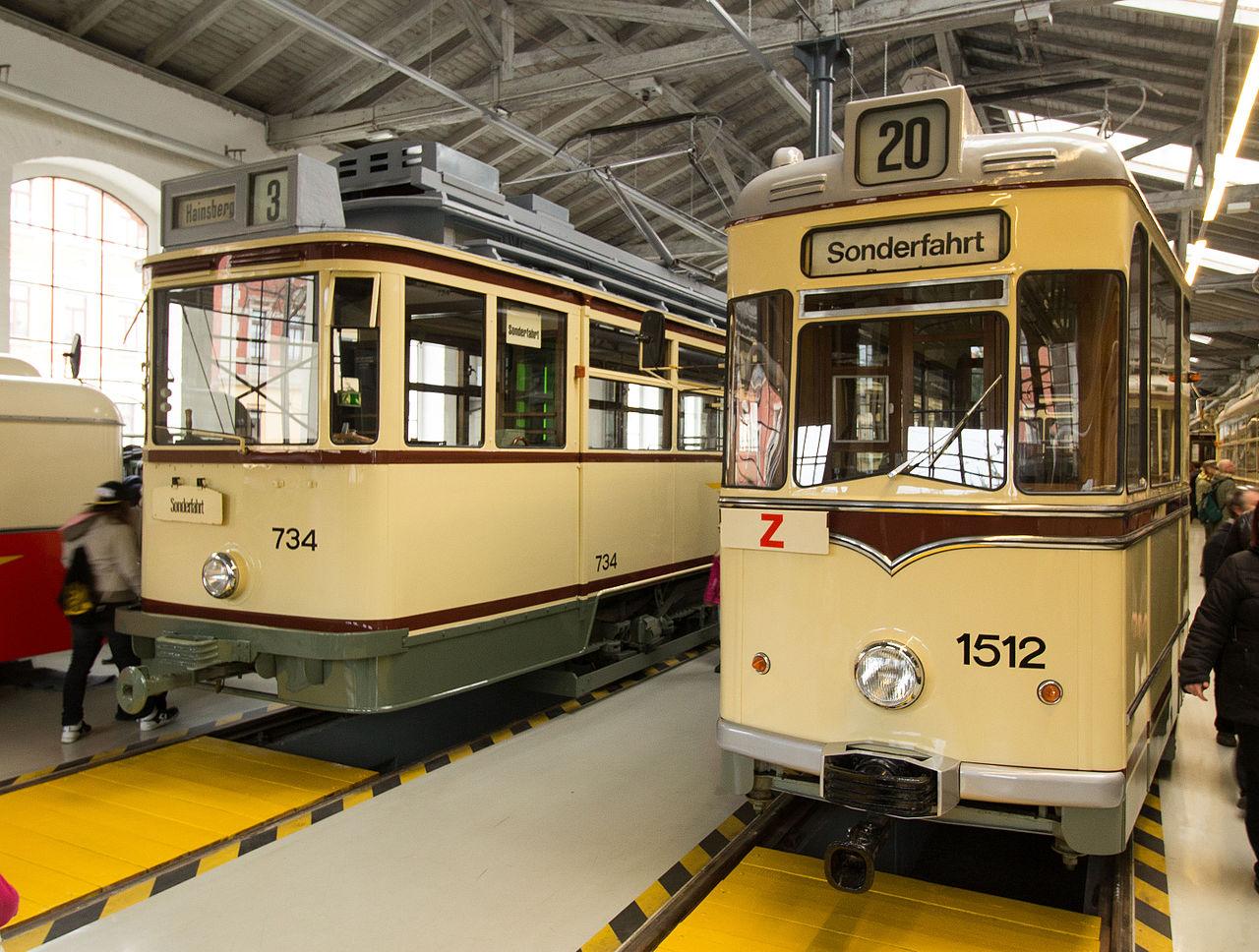 Bild Straßenbahnmuseum Dresden
