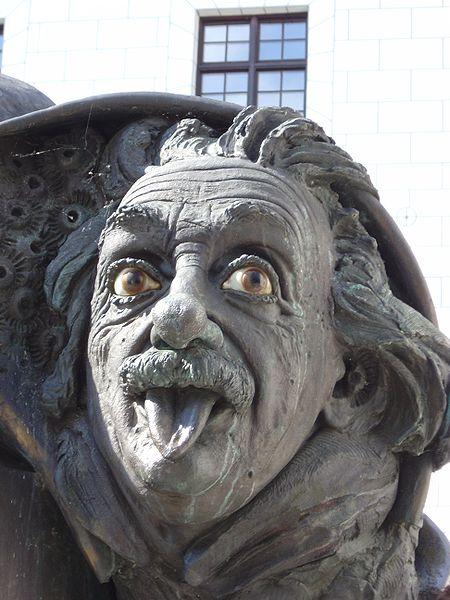 Bild Einstein Denkmal Ulm
