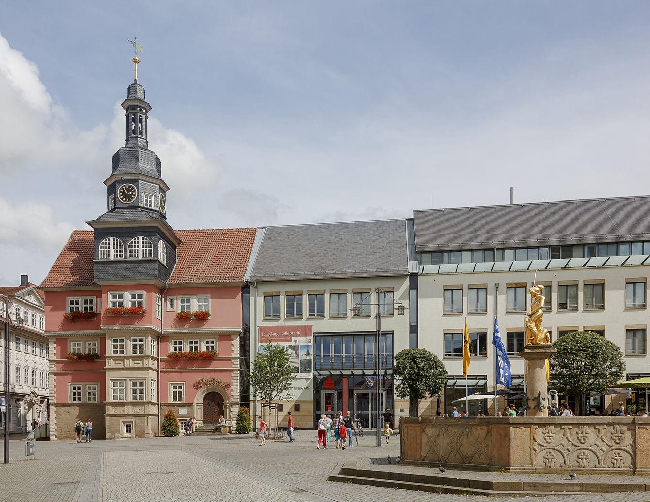 Bild Rathaus Eisenach