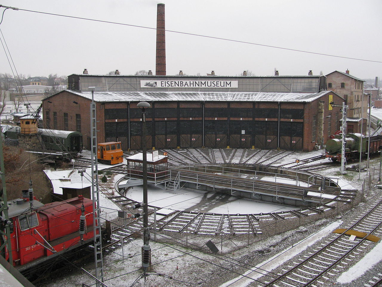Bild Eisenbahnmuseum Bw Dresden Altstadt
