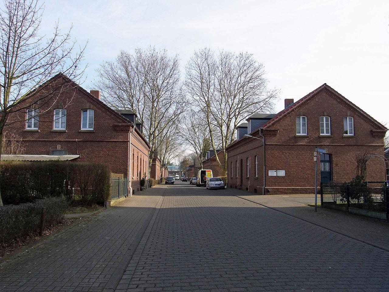 Bild Arbeitersiedlung Eisenheim Oberhausen