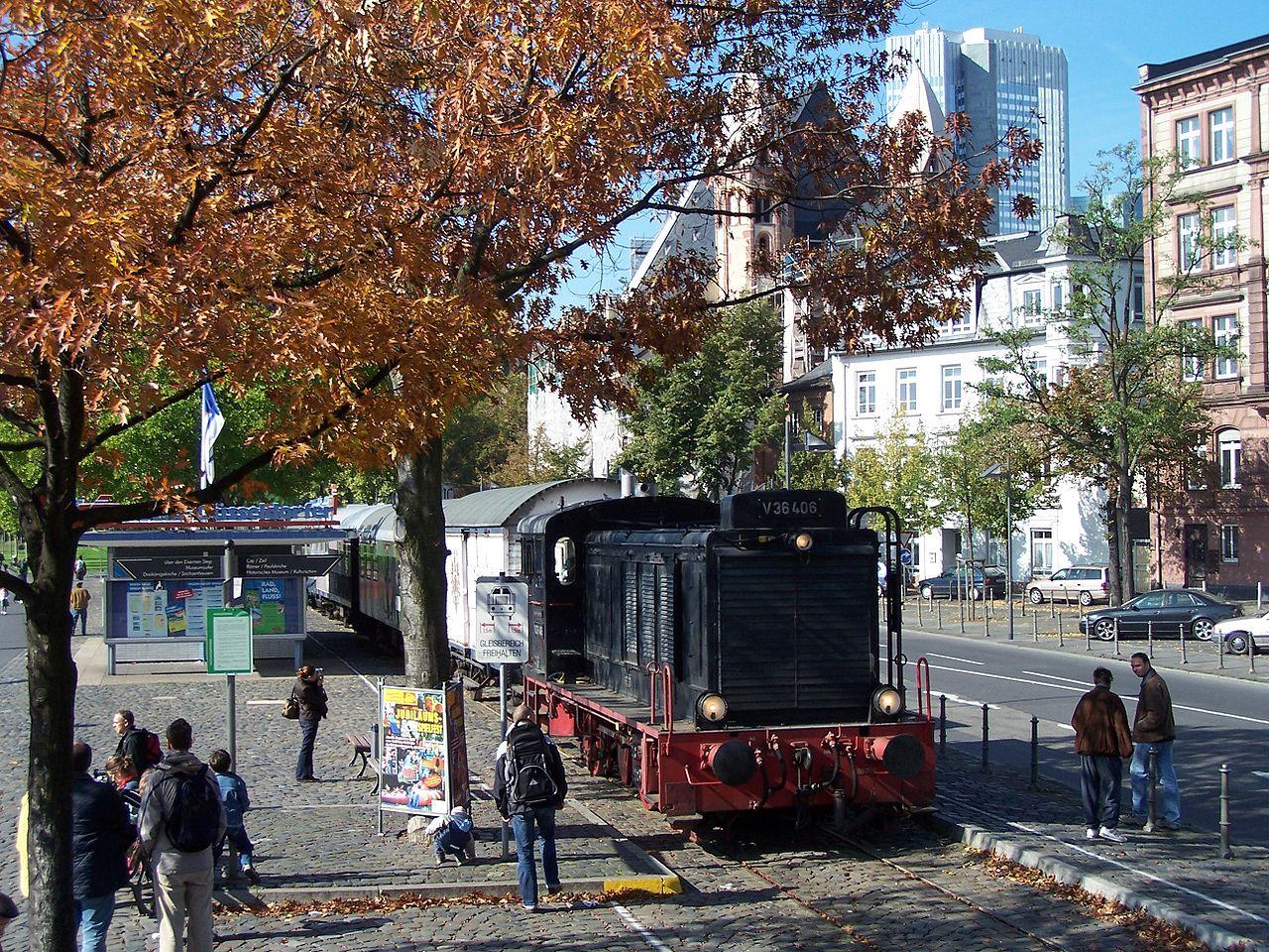 Bild Historische Eisenbahn Frankfurt