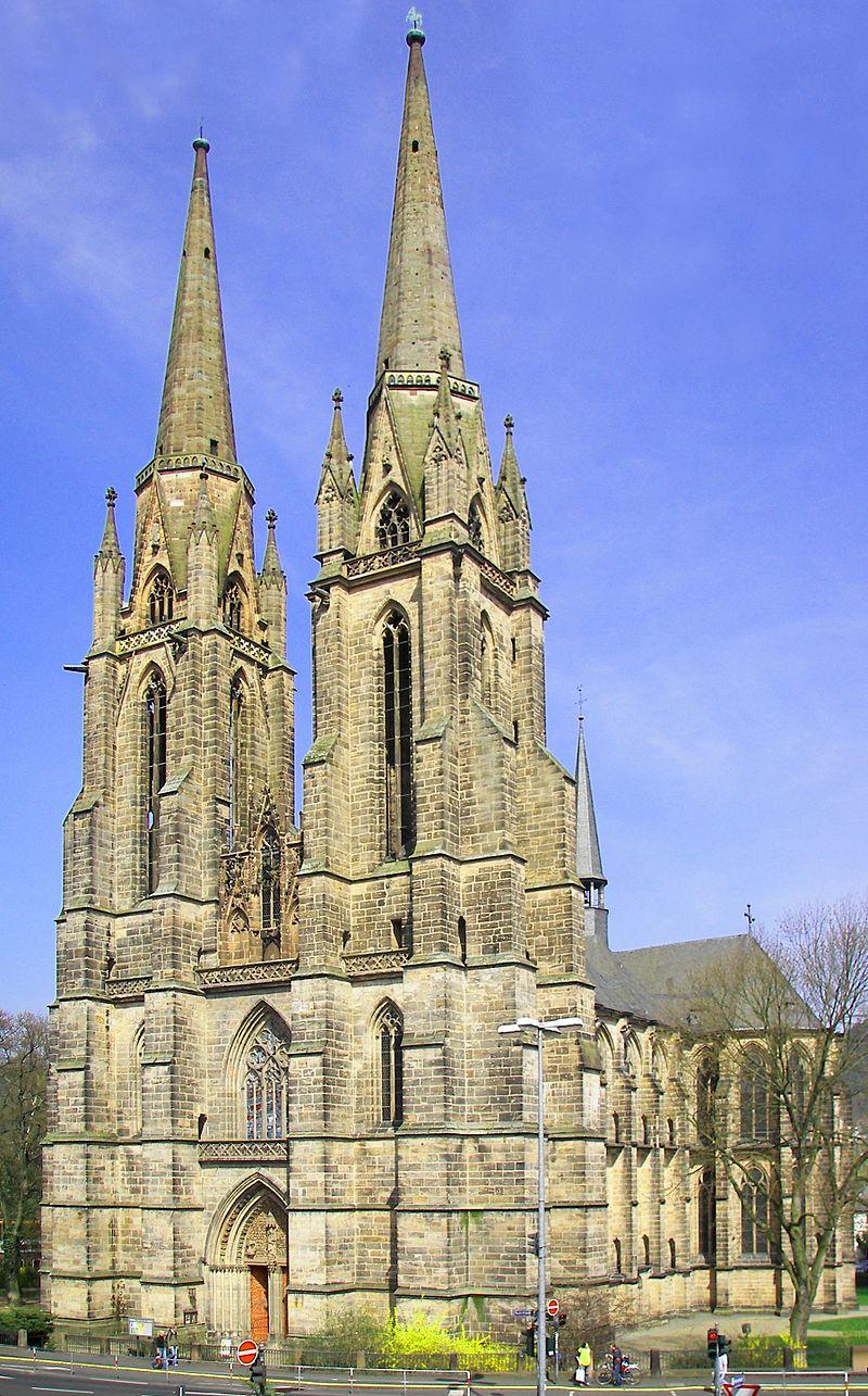 Bild Kirche St. Elisabeth Marburg
