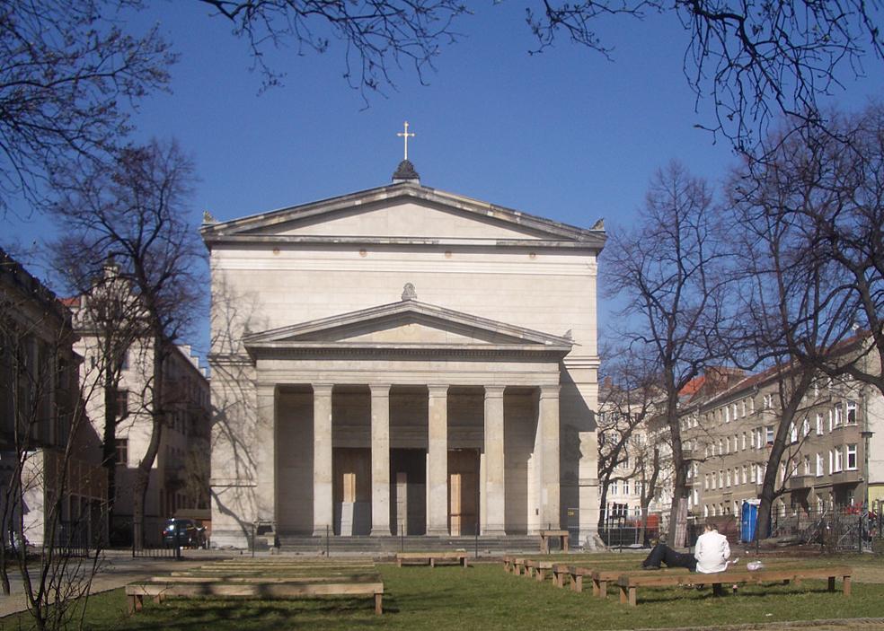 Bild St. Elisabeth Kirche Berlin
