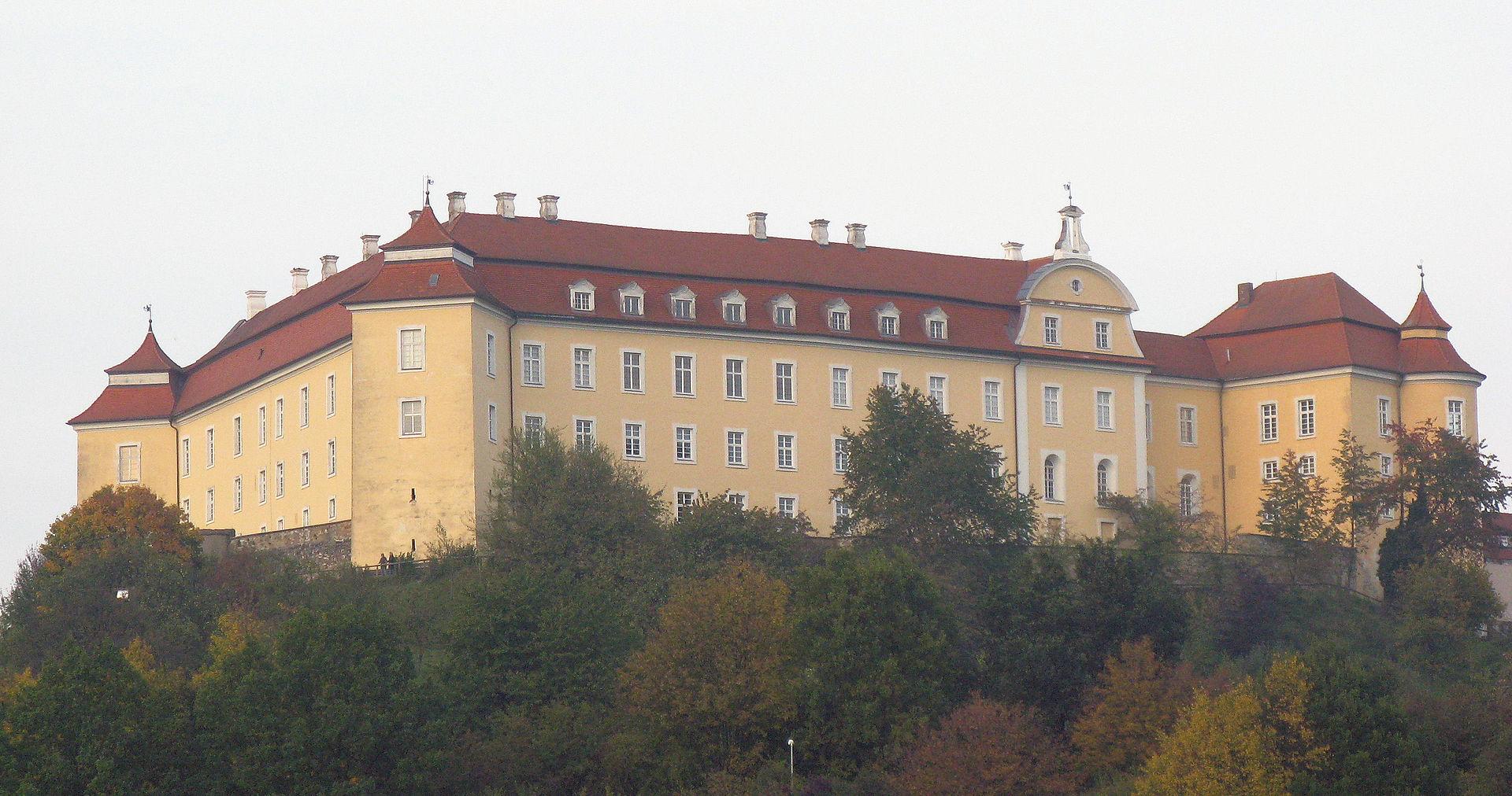 Bild Schloss ob Ellwangen