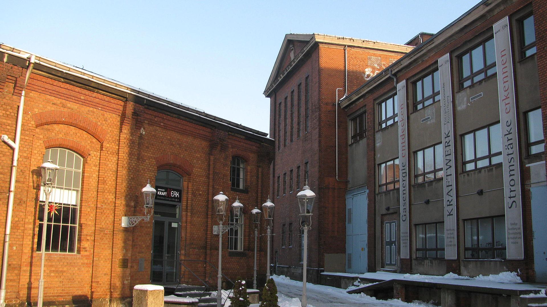 Bild KraftWerk Dresdner Energie Museum