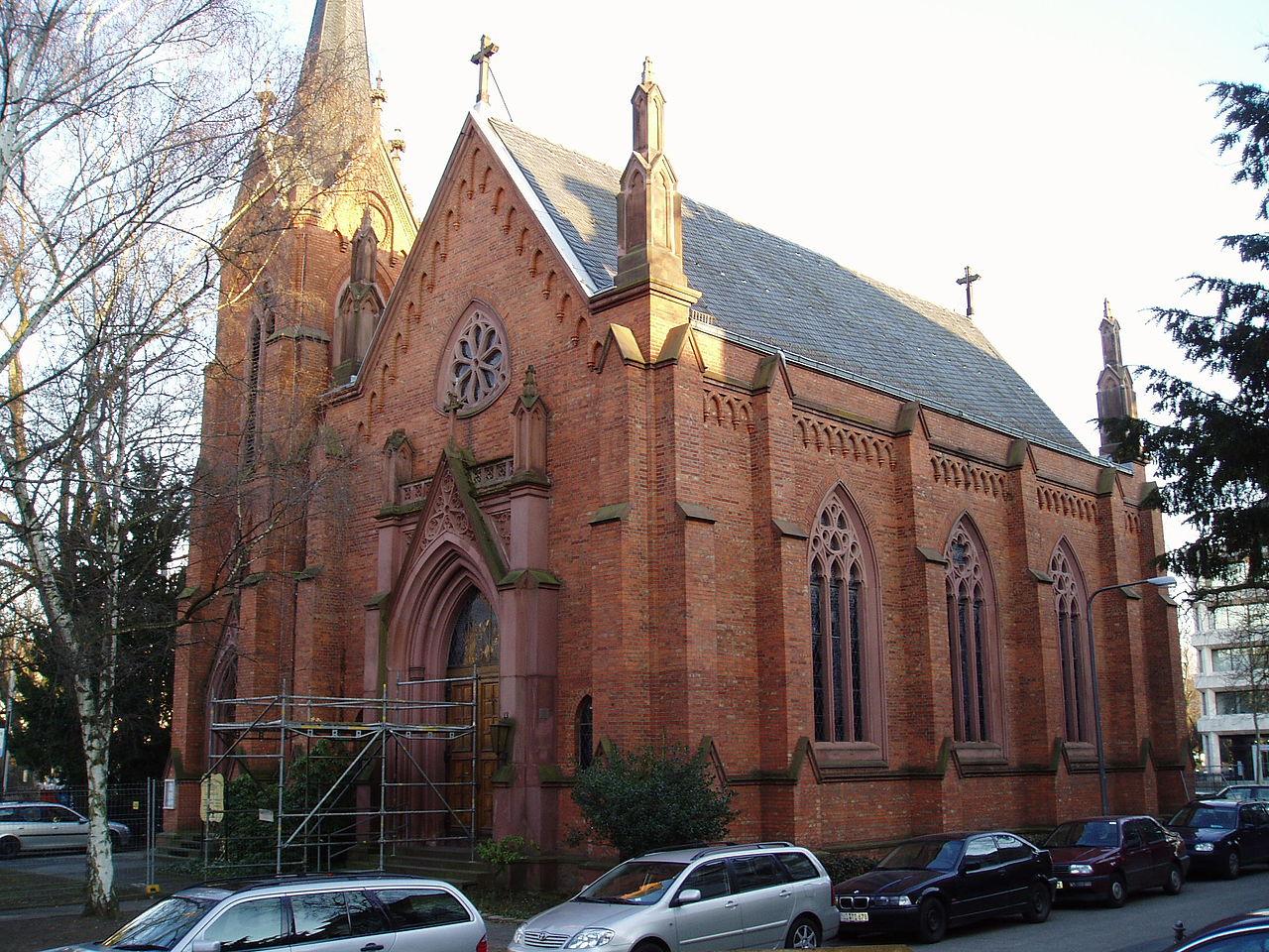 Bild Englische Kirche Wiesbaden