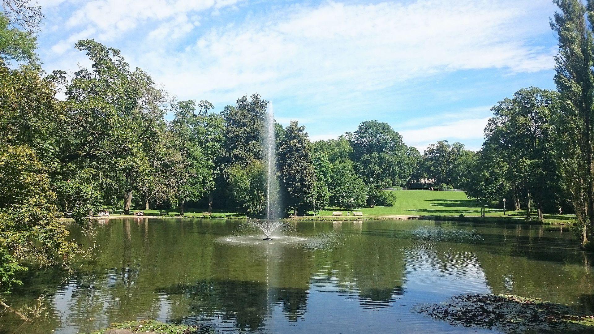 Bild Englischer Garten Meiningen