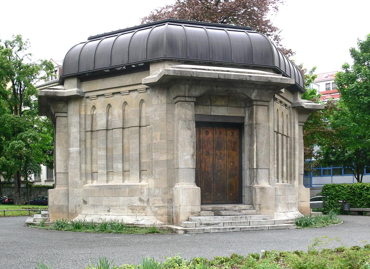 Bild Ernst Abbe Denkmal Jena