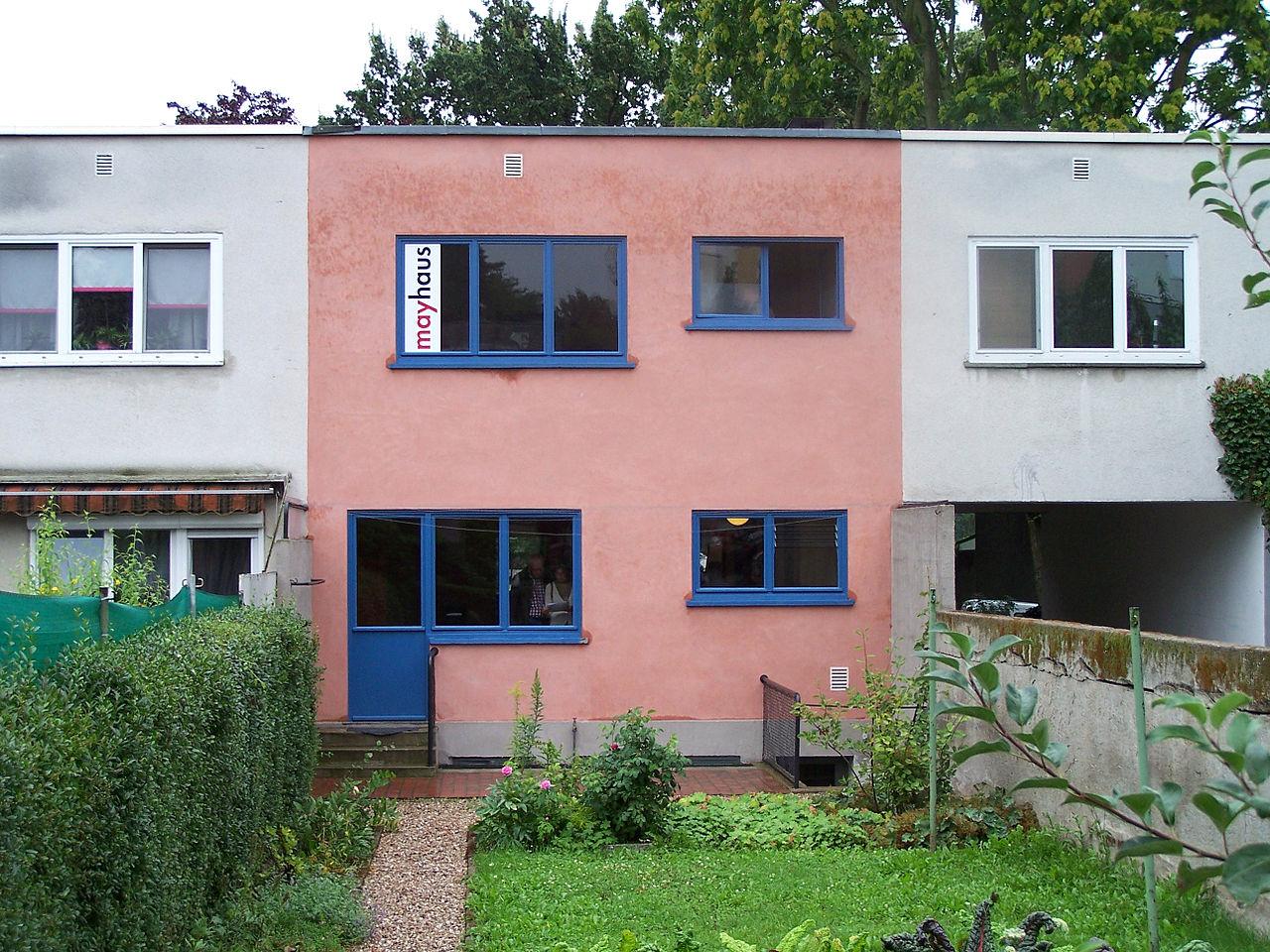 architektur der klassischen moderne in frankfurt am main. Black Bedroom Furniture Sets. Home Design Ideas
