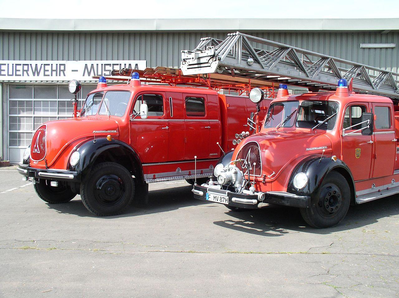 Bild Feuerwehr Museum am Alten Flugplatz Frankfurt am Main