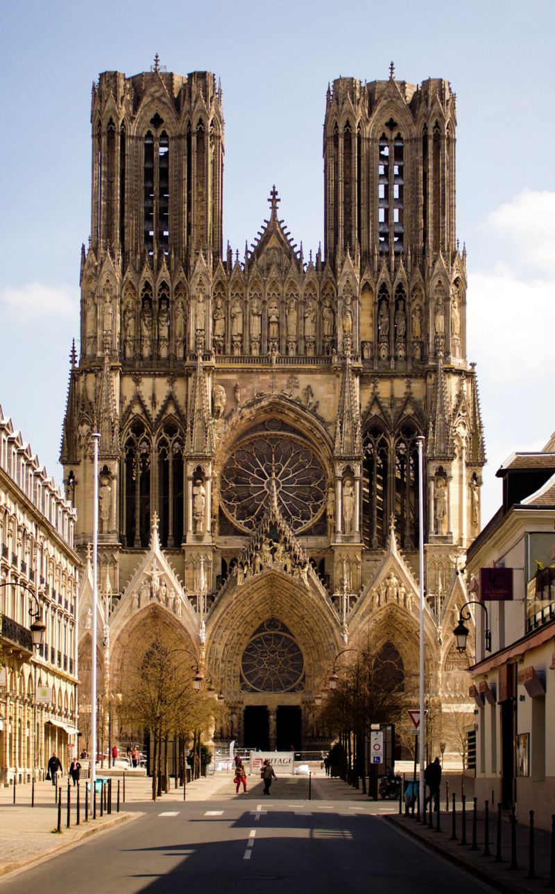 Bild Kathedrale Reims