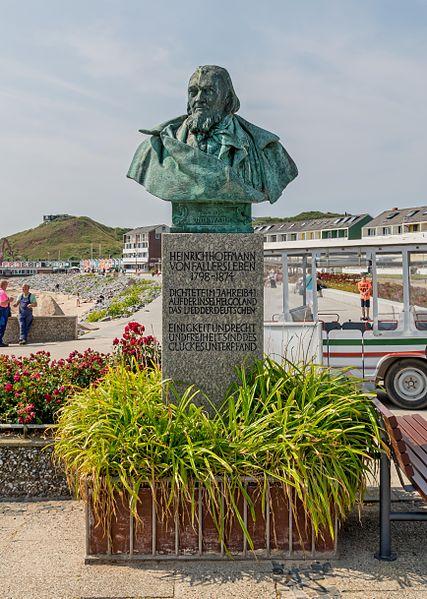Bild Hoffmann Denkmal Helgoland