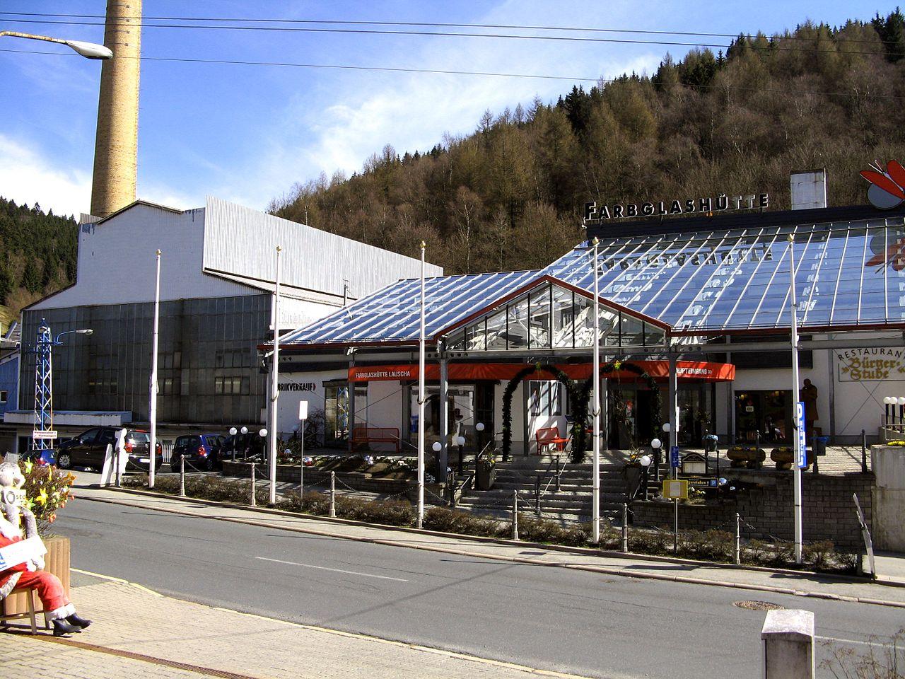 Bild Farbglashütte Lauscha