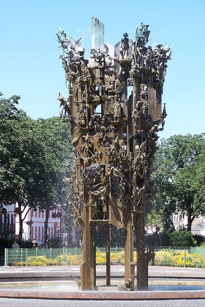 Bild Mainzer Fastnachtsbrunnen