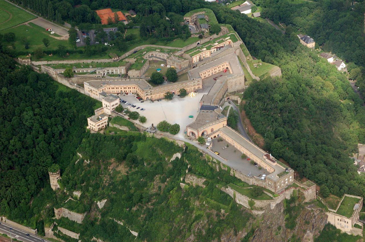Bild Festung Ehrenbreitstein Koblenz