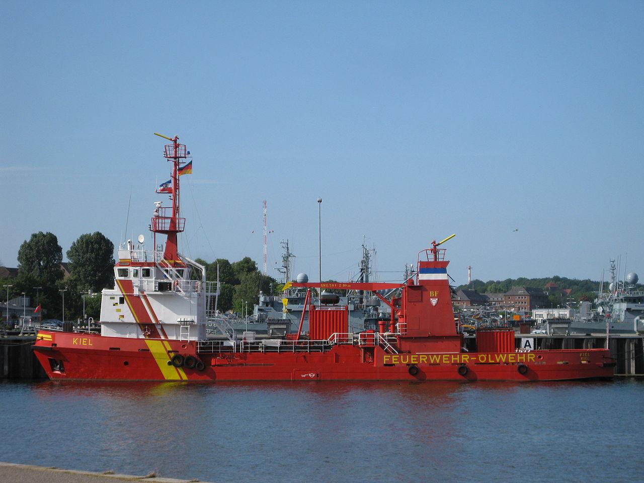 Bild Feuerlöschboot Kiel