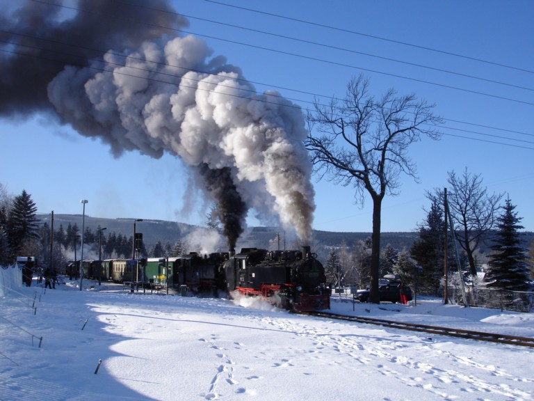 Bild Fichtelbergbahn Oberwiesenthal