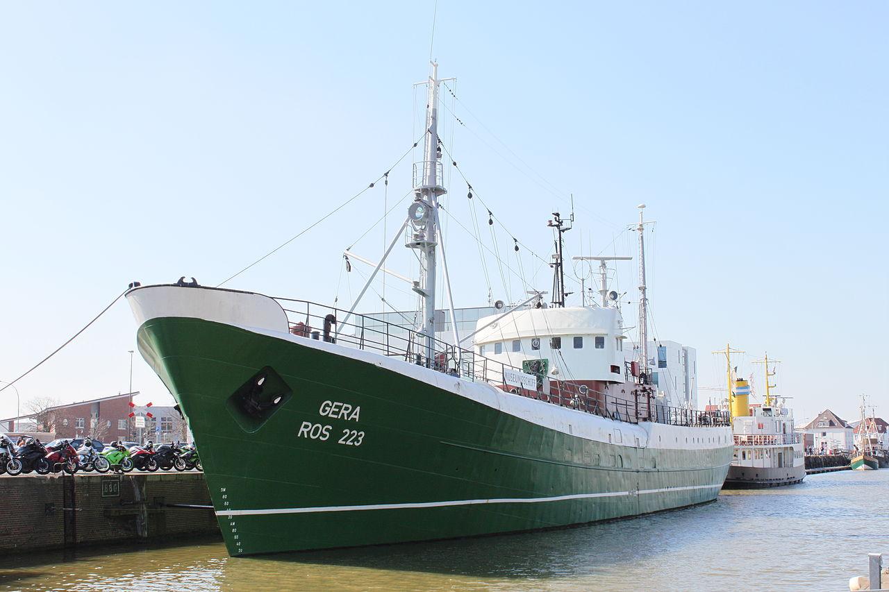 "Bild Museumsschiff FMS ""GERA"" Bremerhaven"