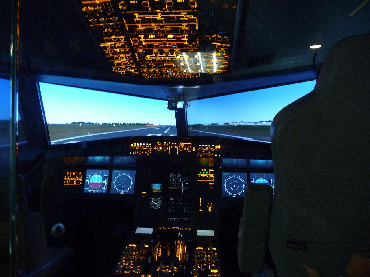 Bild iPilot Flugsimulator München