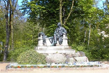 Bild Fontane Denkmal Neuruppin